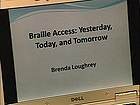 Video for Braille Access