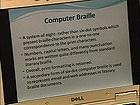 Computer Braille